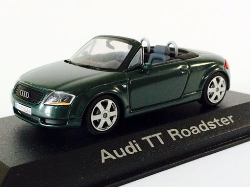 Audi: TT Roadster - Verde - 1:43 -  Minichamps