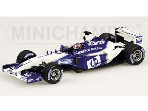 Williams F1 BMW: FW25 (2003)- J.P. Montoya - 1:43 - Minichamps