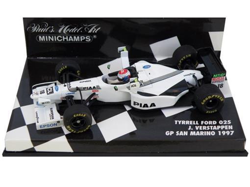 Tyrrell: Ford 025 - J. Verstappen - GP San Marino (1997) - 1:43 - Minichamps