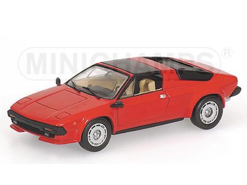 Lamborghini: Jalpa (1981) - Vermelho - 1:43 - Minichamps
