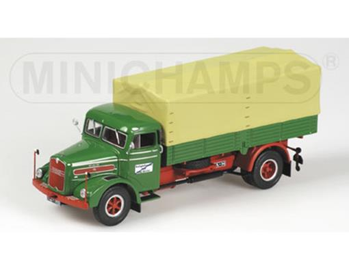Man: F8 (1953) - Canvas Truck - 1:43 - Minichamps