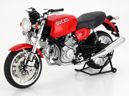 Ducati: GT 1000 - Vermelha - 1:12 - Autoart