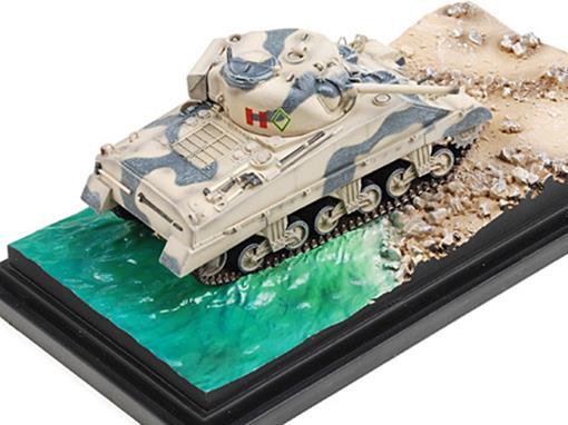 Diorama: British Army - Sherman Mk.III 3rd CLY - (Itália 1943) - 1:72 - Dragon Armor