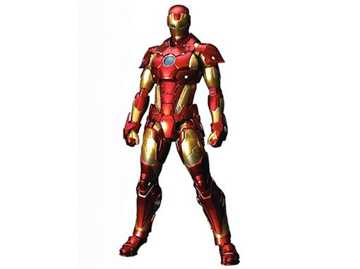 Boneco Re:Edit Iron Man - #01 Bleeding Edge Armor - Sentinel