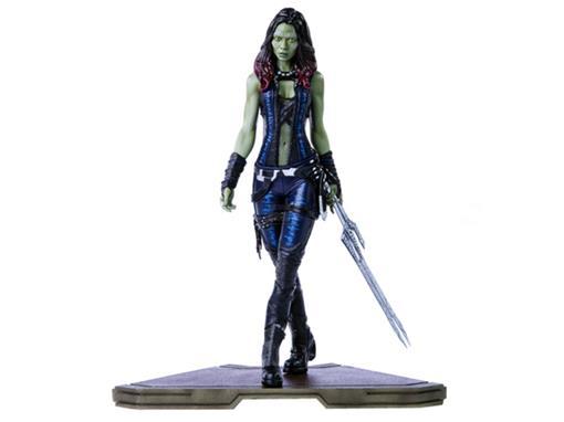 Estátua Gamora - Guardiões da Galáxia - Art Scale - 1:10 -  Iron Studios
