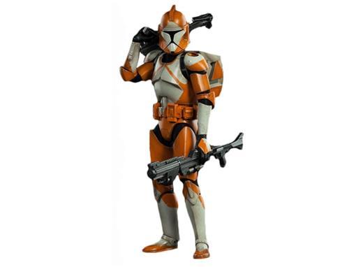 Boneco Bomb Squad Clone Trooper - Star Wars - 1:6 - Sideshow