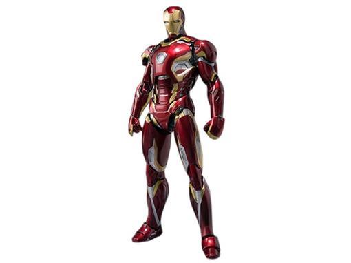 Boneco Iron Man Mark XLV - Avengers Age Of Ultron - S.H.Figuarts - Bandai