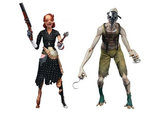 Pack Splicer 2 Personagens - Bioshock 2 - Neca