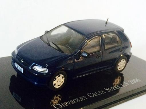 Chevrolet: Celta Super 1.4 (2006) - Azul - 1:43 - Ixo