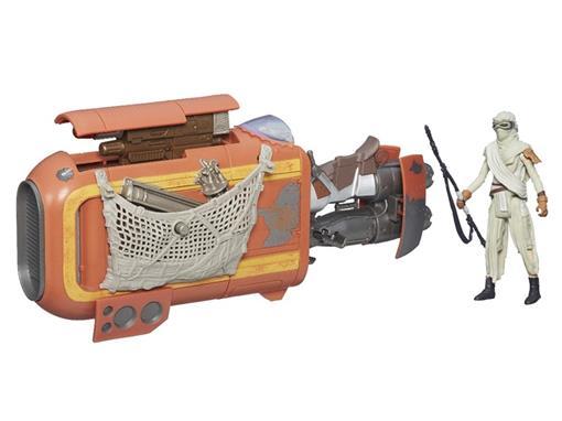 Veículo Star Wars Class I Deluxe Rey's Speeder (Jakku) - Hasbro