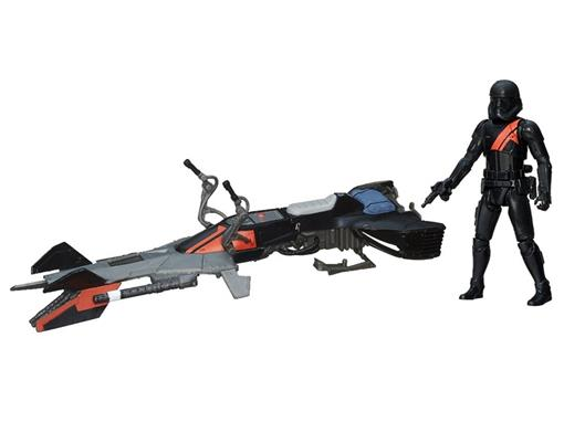 Veículo Star Wars Class I Elite Speeder Bike + Stormtrooper - Hasbro