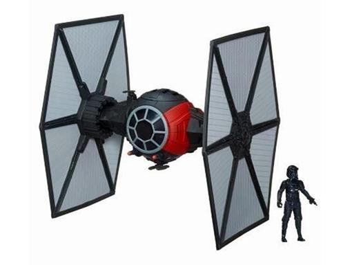 Veículo Star Wars Class II Deluxe TIE Fighter + First Order Special Forces - Hasbro