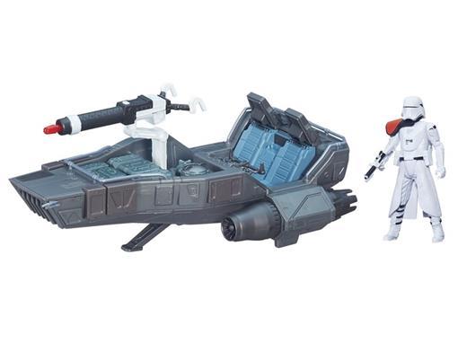 Veículo Star Wars Class II First Order Snowspeeder + First Order Snowtrooper - Hasbro
