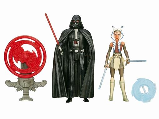 Pack c/ 2 Bonecos - Star Wars Episode VII - Darth Vader/ Ahsoka Tano - Hasbro