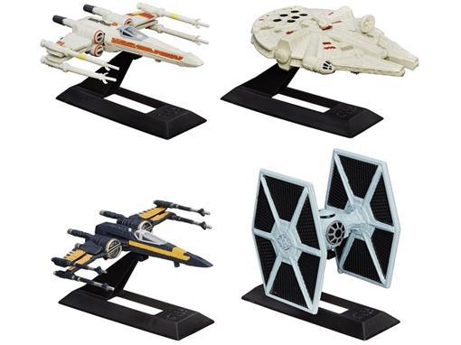Pack c/ 4 Veículos - Star Wars Episódio VII