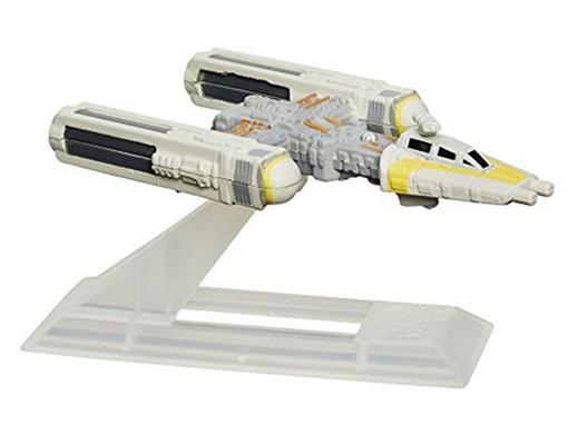 Veículo Star Wars Titanium Y-Wing - Black Series - N.08 - Hasbro