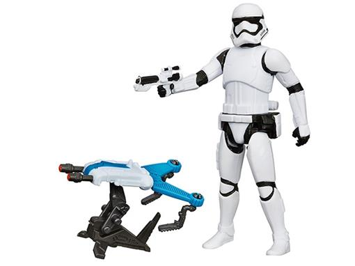 Boneco First Order Stormtrooper - Star Wars The Force Awakens - Hasbro