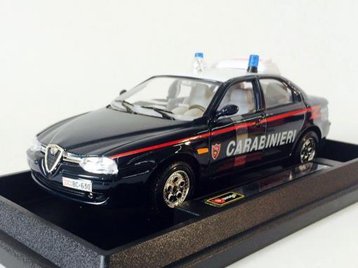 Alfa Romeo: 156 Carabinieri - 1:24 - Burago