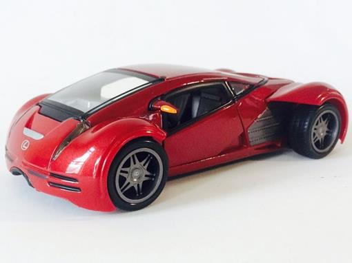 Lexus: Futuristic Concept - Vermelho - 1:24 - Maisto