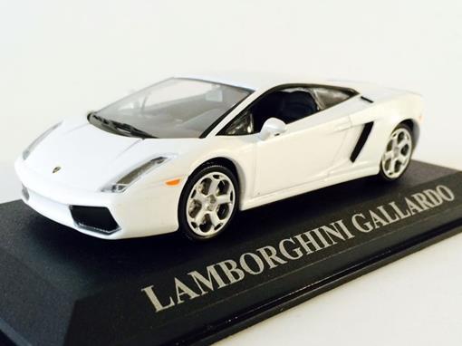 Lamborghini: Gallardo - Branca - 1:43 - Altaya