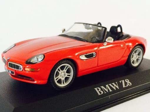 BMW: Z8 - Vermelha - 1:43 - Altaya