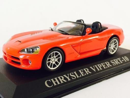 Chrysler: Viper SRT-10 - Vermelho - 1:43 - Altaya