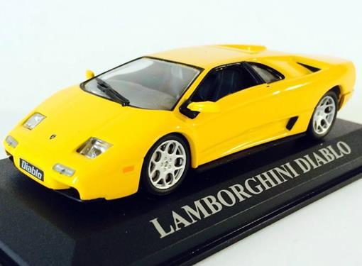 Lamborghini: Diablo - Amarela - 1:43 - Altaya