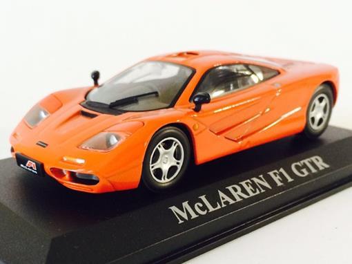 McLaren: F1 GTR - Laranja - 1:43 - Altaya