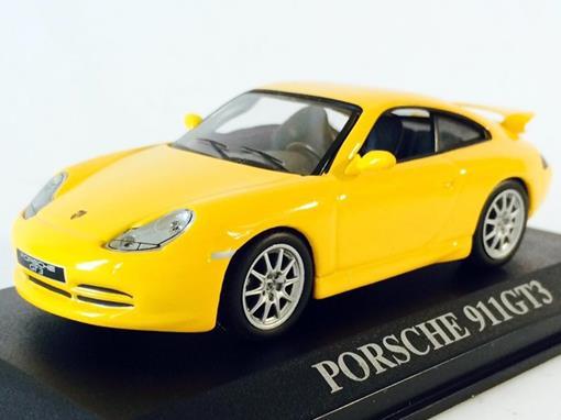 Porsche: 911 GT3 - Amarelo - 1:43 - Altaya