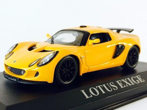Lotus: Exige - Amarelo - 1:43 - Altaya