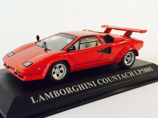Lamborghini: Countach LP500S - Vermelha - 1:43 - Altaya