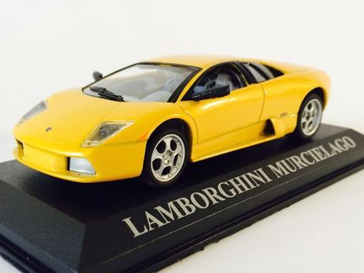 Lamborghini: Murcielago - Amarelo - 1:43 - Altaya