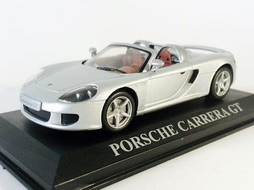 Porsche: Carrera GT - Prata - 1:43 - Altaya
