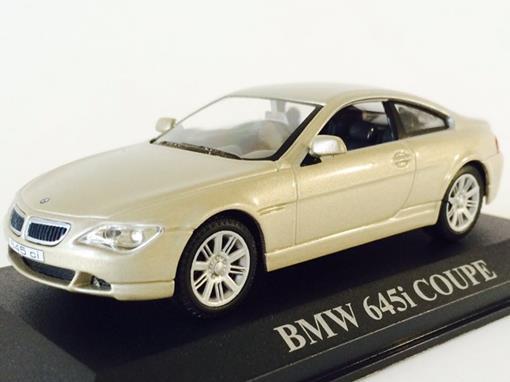 BMW: 645i Coupe - Bege - 1:43 - Altaya