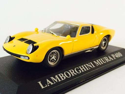 Lamborghini: Miura P400 - Amarela - 1:43 - Altaya