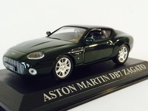 Aston Martin: DB7 Zagato - Verde - 1:43 - Altaya