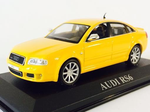 Audi: RS6 - Amarelo - 1:43 - Altaya