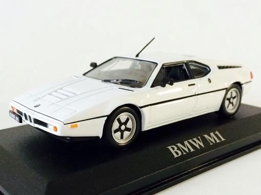 BMW: M1 - Branco - 1:43 - Altaya
