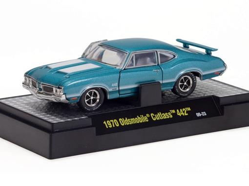 Oldsmobile: Cutlass 442 (1970) Detroit Muscle - 1:64 - M2 Machines