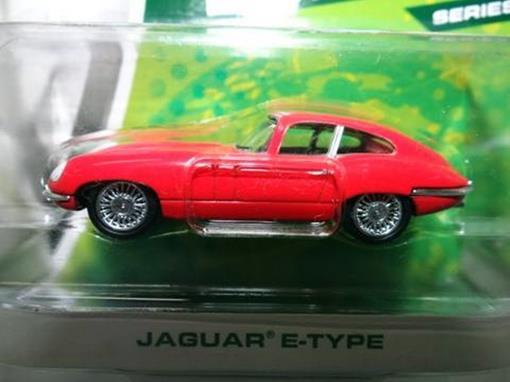 Jaguar: E-Type - Série 6 - Motor World - 1:64 - Greenlight