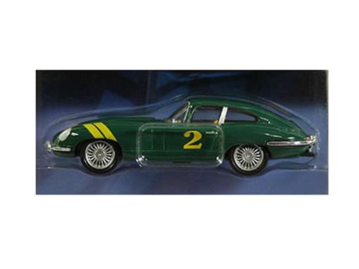 Jaguar: E-Type - Série 1 - Motor World - Verde - 1:64 - Greenlight