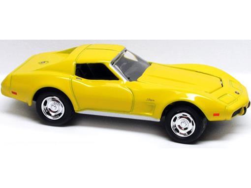 Chevrolet: Corvette (1975) - Amarelo - Johnny Lightning