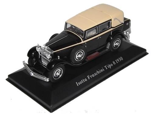 Isotta: Fraschini Tipo 8 (1930) - Preto - 1:43 - Altaya