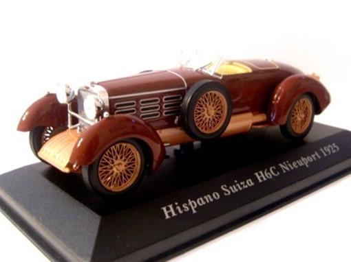 Hispano Suiza: H6c Nieuport (1925) - Marrom - 1:43 - Altaya