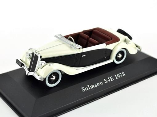 Salmson: S4E (1938) - Creme / Preto - 1:43 - Altaya
