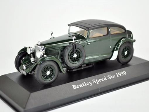 Bentley: Speed Six (1930) - Verde - 1:43 - Altaya