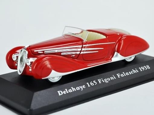 Delahaye: 165 Figoni Falaschi (1938) - 1:43 - Altaya