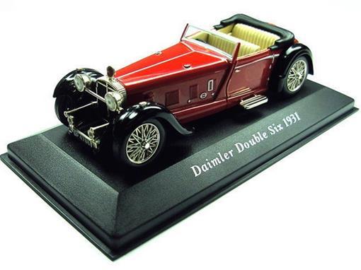 Daimler: Double Six (1931) - Vermelho - 1:43 - Altaya
