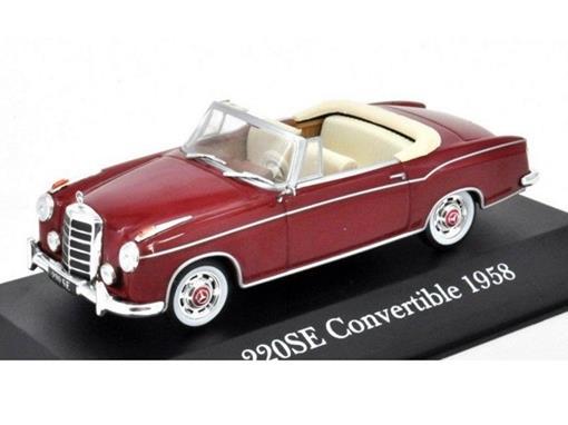 Mercedes Benz: 220SE Conversível (1958) - 1:43 - Altaya