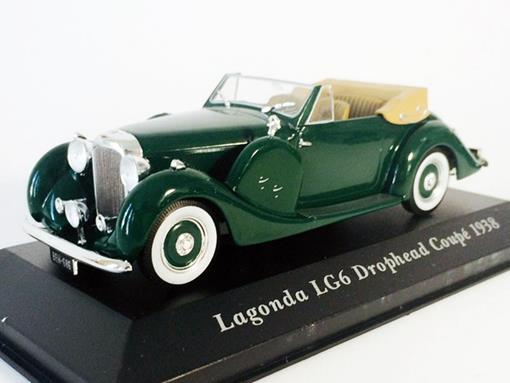 Lagonda: LG6 Drophead Coupé (1938) - 1:43 - Altaya